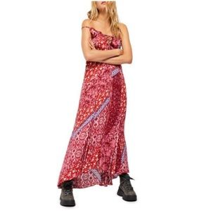 Intimately free people work of art maxi dress xs